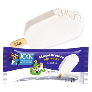 Вятушка, Мороженое пломбир  ванильный на палочке