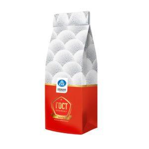 ГОСТ, 100% пломбир с нежным ароматом ванили, приготовленный по ГОСТу, в бумажном пакете.