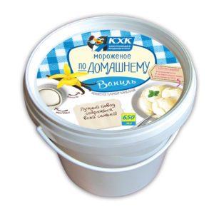 Домашний, 12-процентный ванильный пломбир идеально подойдет для домашних десертов и придется по вкусу любому сладкоежке.