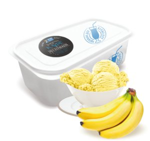 Банановое мороженое.