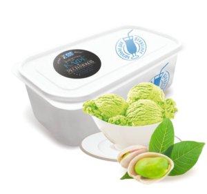 Фисташковое мороженое.