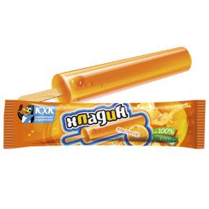 Купить оптом Хладик, Яркий вкус лета подарит освежающий фруктовый лед со вкусом сочного апельсина. 0% жирности!