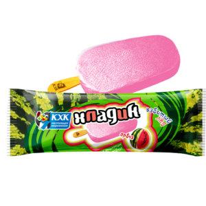 Хладик, Освежающий взбитый лед со вкусом арбуза - настоящий яркий вкус лета и 0% жирности!
