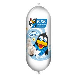 Купить оптом Пингвин Гоша, Ванильное мороженое с веселым пингвином на этикетке.