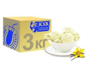 Традиционный ванильный пломбир, знакомый и любимый с детства вкус.