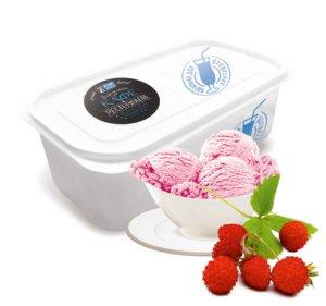 Земляничное мороженое.
