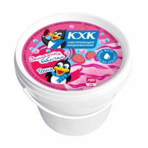 Пингвин Гоша, Мороженое со вкусом земляники и наполнителем «бабл-гам»