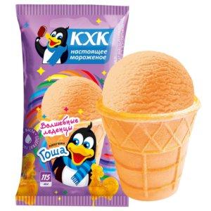Пингвин Гоша, Мороженое со вкусом волшебных леденцов и веселым пингвином на этикетке.